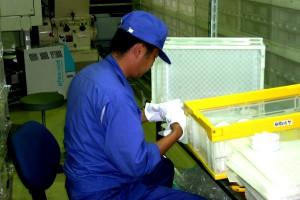 Enagic® Kangen Water® Filter Manufacturing Process - Step 1